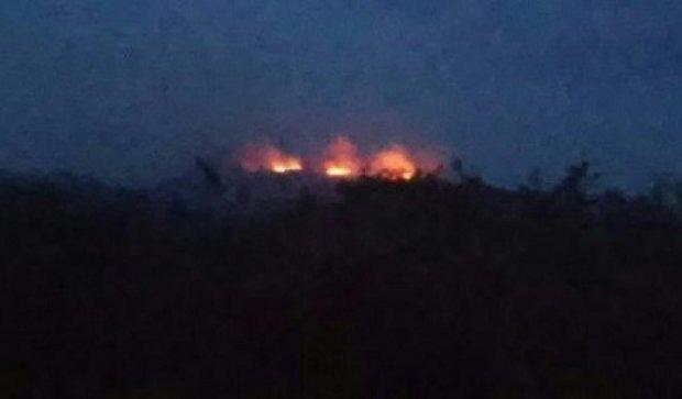 В окупованому Донецьку вибухнула російська машина з боєприпасами