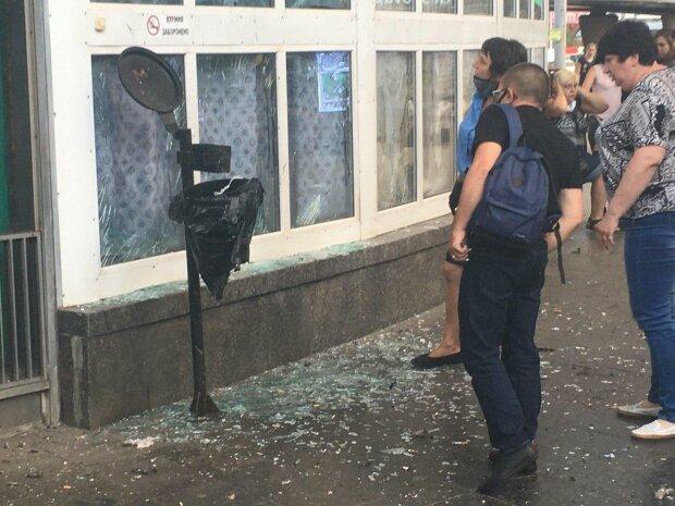 взрыв на Шулявке, фото Нацполиция