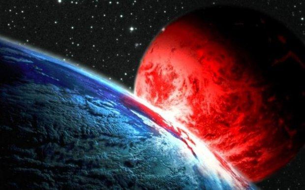 Апокаліпсис сьогодні: в мережі показали зіткнення Землі з планетою-вбивцею