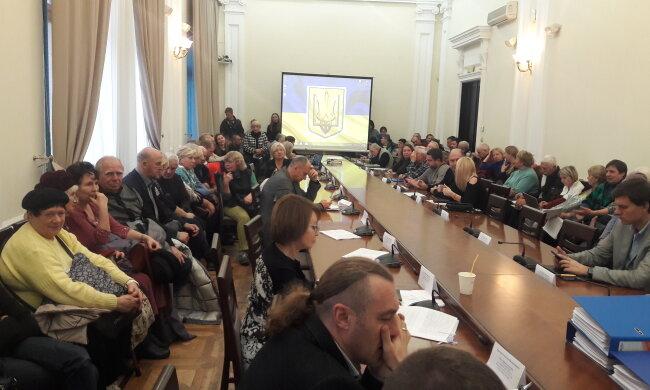 Засідання Постійної земельної комісії Київради