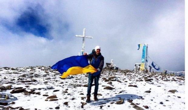 Фото первого снега в Украине взорвали Instagram