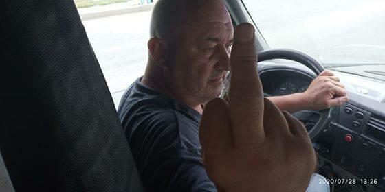 """В Запорожье быдло-маршрутчик нагло выдворил ветерана АТО: """"Места для нормальных людей"""""""