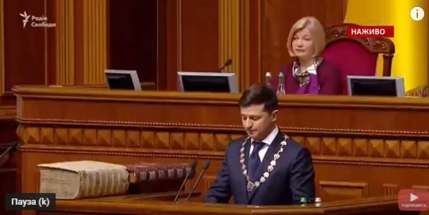 Перша промова президента Зеленського змусила плакати кожного українця