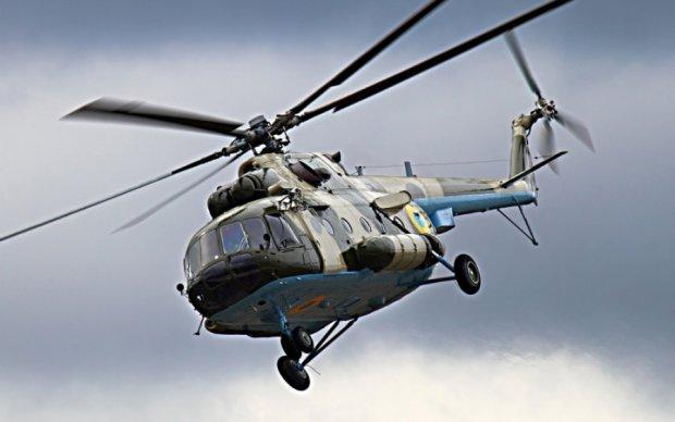 Под Краматорском разбился военный вертолет, экипаж погиб