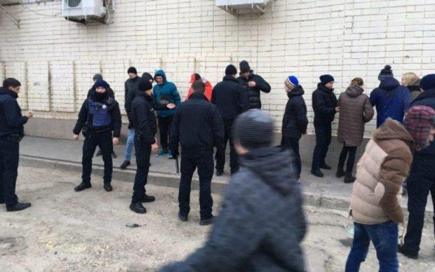 Во Львове произошла массовая бойня студентов - видео