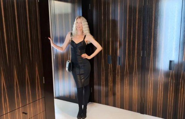 Клаудія Шиффер, скріншот відео