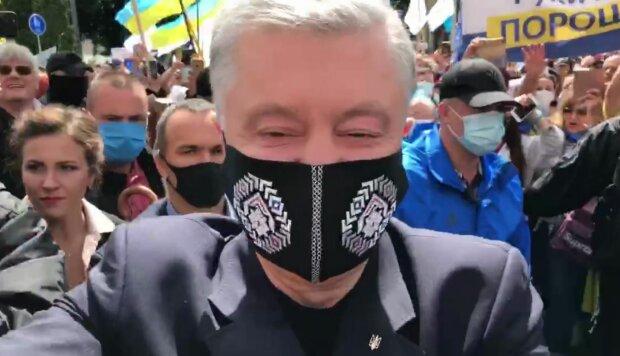 Петр Порошенко, скриншот: YouTube