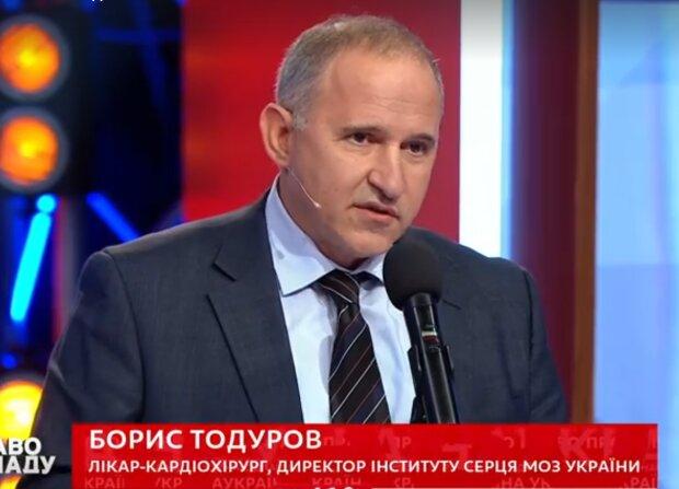 ″Мінливості долі″: Тодуров прооперував актора, що зіграв його тезку - сепаратиста у стрічці Уляни Супрун