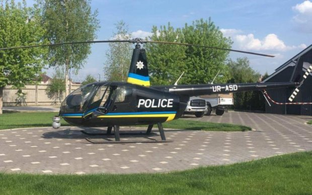 Київська поліція змушена орендувати гелікоптер, ціна вас вразить