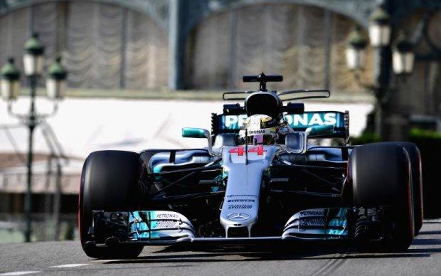 Формула-1: Гемільтон показав найкращий час у першій практиці на Гран-прі Монако