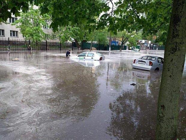 Злива в Києві - фото з Фейсбук