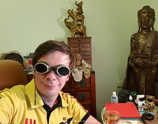 Дмитро Комаров, фото Instagram
