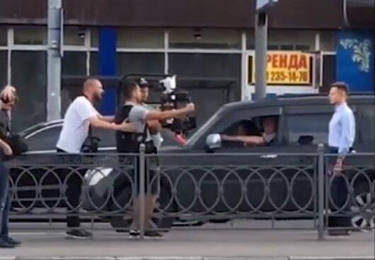 Коментарі зайві: Гончаренко знімав виборчий ролик під крики, що він ″пєтух″
