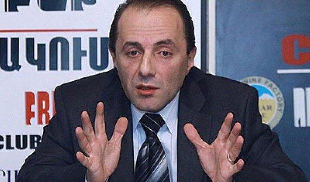 Вірменська влада наступає на граблі Януковича - Рубен Меграбян