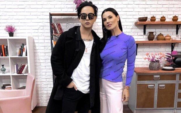 Єфросиніна і Меловін // www.instagram.com/mashaefrosinina/