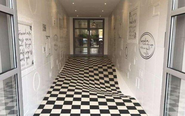Японець створив оптичну ілюзію, від якої у вас поїде дах