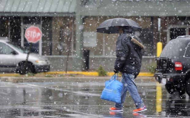 Легкий сніг. Фото: baltimoresun.com