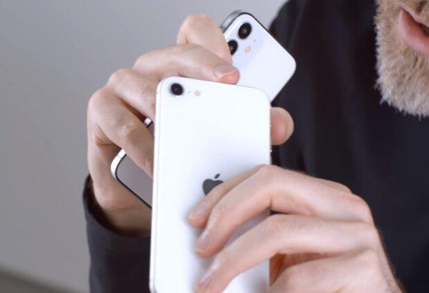 Новый iPhone, скриншот видео