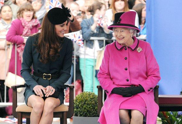 Кейт Міддлтон вперше за 7 років підпустять до Єлизавети на людях