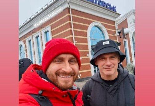 Арсен Мирзоян оставил Тоню Матвиенко и отправился на восток Украины: здесь еще зима