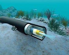 трансокеанічні підводні кабелі зв'язку
