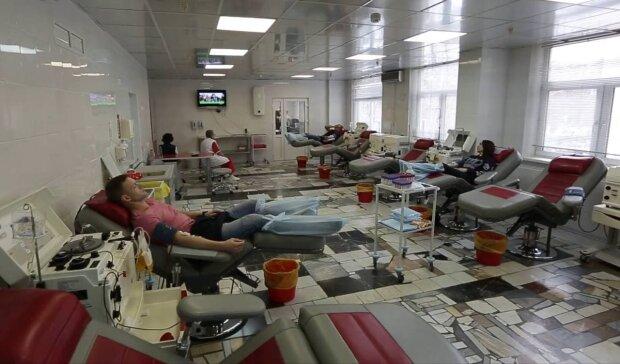 Донорство крові / скріншот з відео