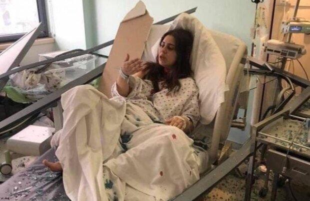 В Бейруте малыш родился через несколько минут после взрыва: выбитые окна, брызги крови и новая жизнь