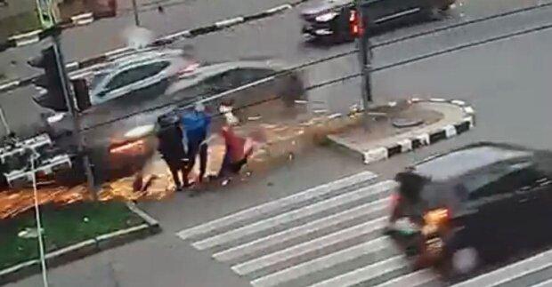 ДТП Харьков / скриншот из видео