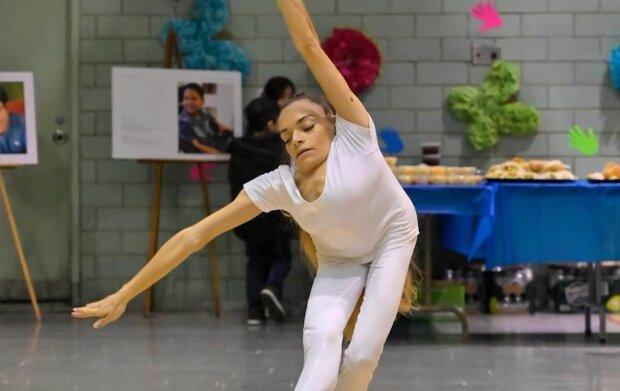 Тиффани Гейгель, кадр из видео