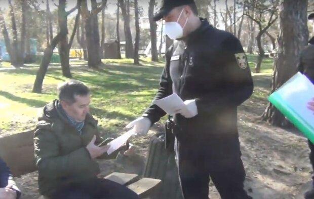 карантинный патруль, скриншот из видео