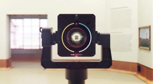 Google создал гигапиксельную камеру для сканирования шедевров искусства