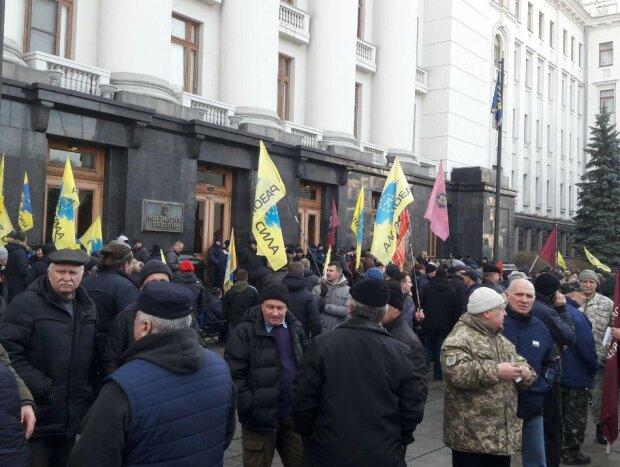 Мітинг під Офісом президента, фото: Znaj.ua