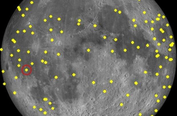 Місяць, фото Європейське космічне агентство
