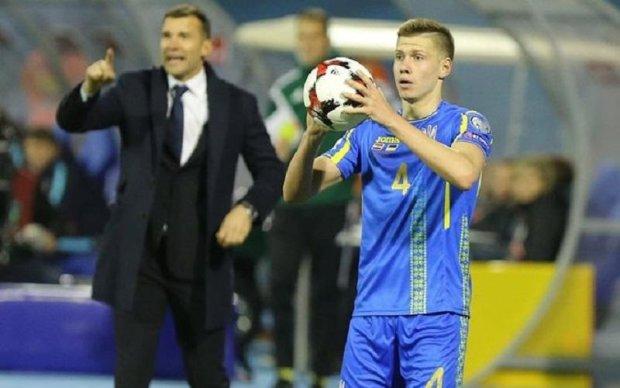Українським футболістам пообіцяли премію за перемогу над Хорватією