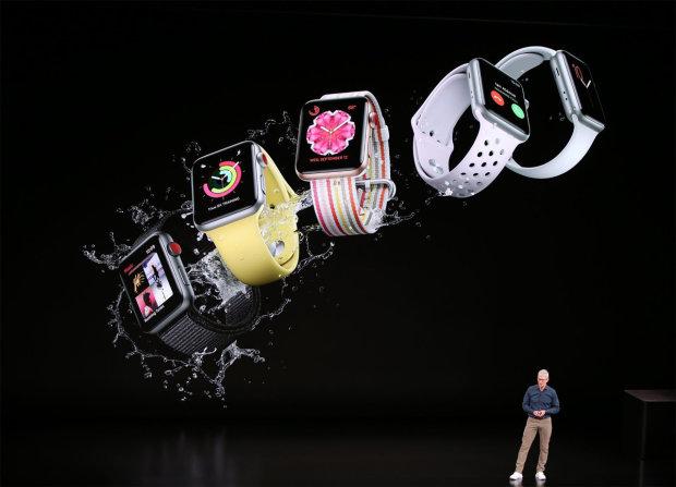 Apple показала новые iPhone XS, XS Max, XR і Apple Watch 4 на грандиозной презентации