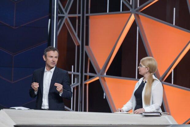 Тимошенко и Вакарчук, фото: economics-prorok.com