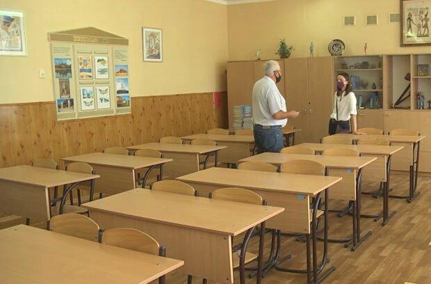 Школы во время карантина, скриншот с видео