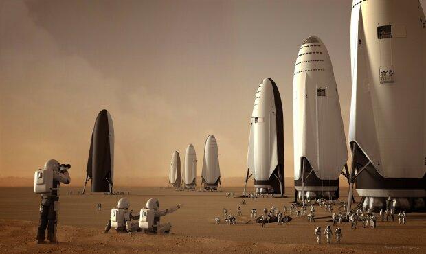 """Все попытки человечества """"захватить"""" Марс собрали в один эпический кадр: работа 60 лет"""