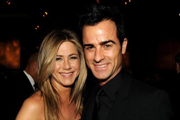 Джастін Теру і Дженніфер Еністон, фото Getty Images