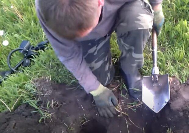 Как найти клад, скриншот с видео