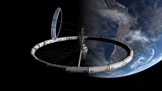 Космическая лотерея: активисты разыгрывают полет на станцию с искусственной гравитацией