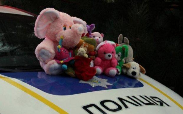 Это не вам игрушки: копы провели необычную акцию