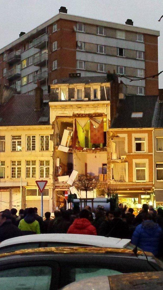 Вибух в Бельгії зруйнував будинок (фото)