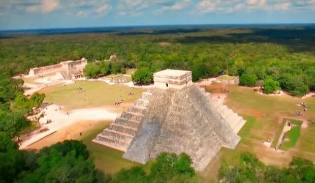 Пирамиды майя, скриншот: YouTube