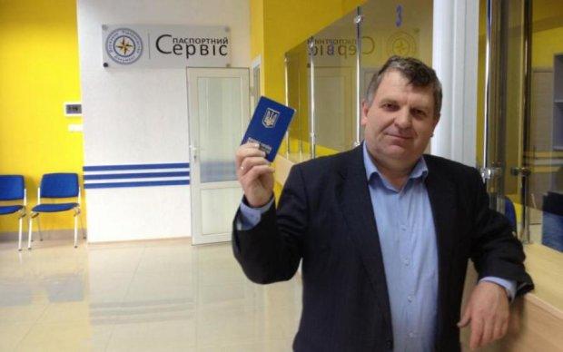 Український паспорт виявився приводом для гордості