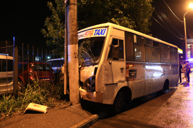 Поліція, швидка та електрики: пасажирський автобус потрапив у жахливу аварію, десятки поранених