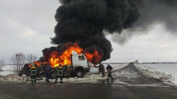 Пожежа, фото: ДСНС