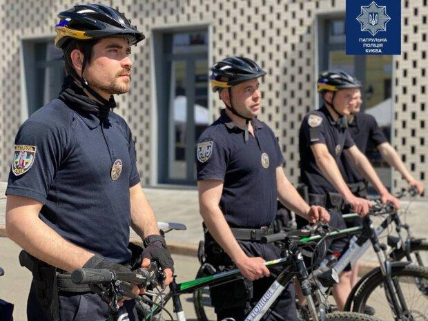 Копи на велосипедах взялися за киян: миша не проскочить