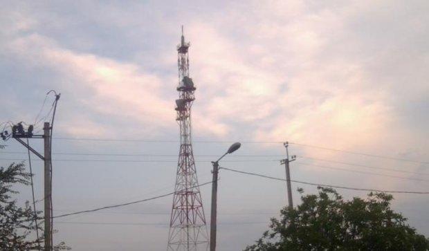 Під час  боїв у  Донецьку зникли телеканали терористів