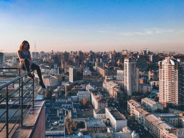 Руферы показали Киев с высоты птичьего полета: опасно, но невероятно красиво